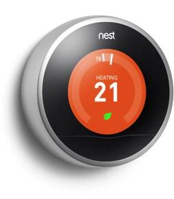 Nest learning thermostat smart controls installed by Nest Elite Installer in Edinburgh and the Lothians
